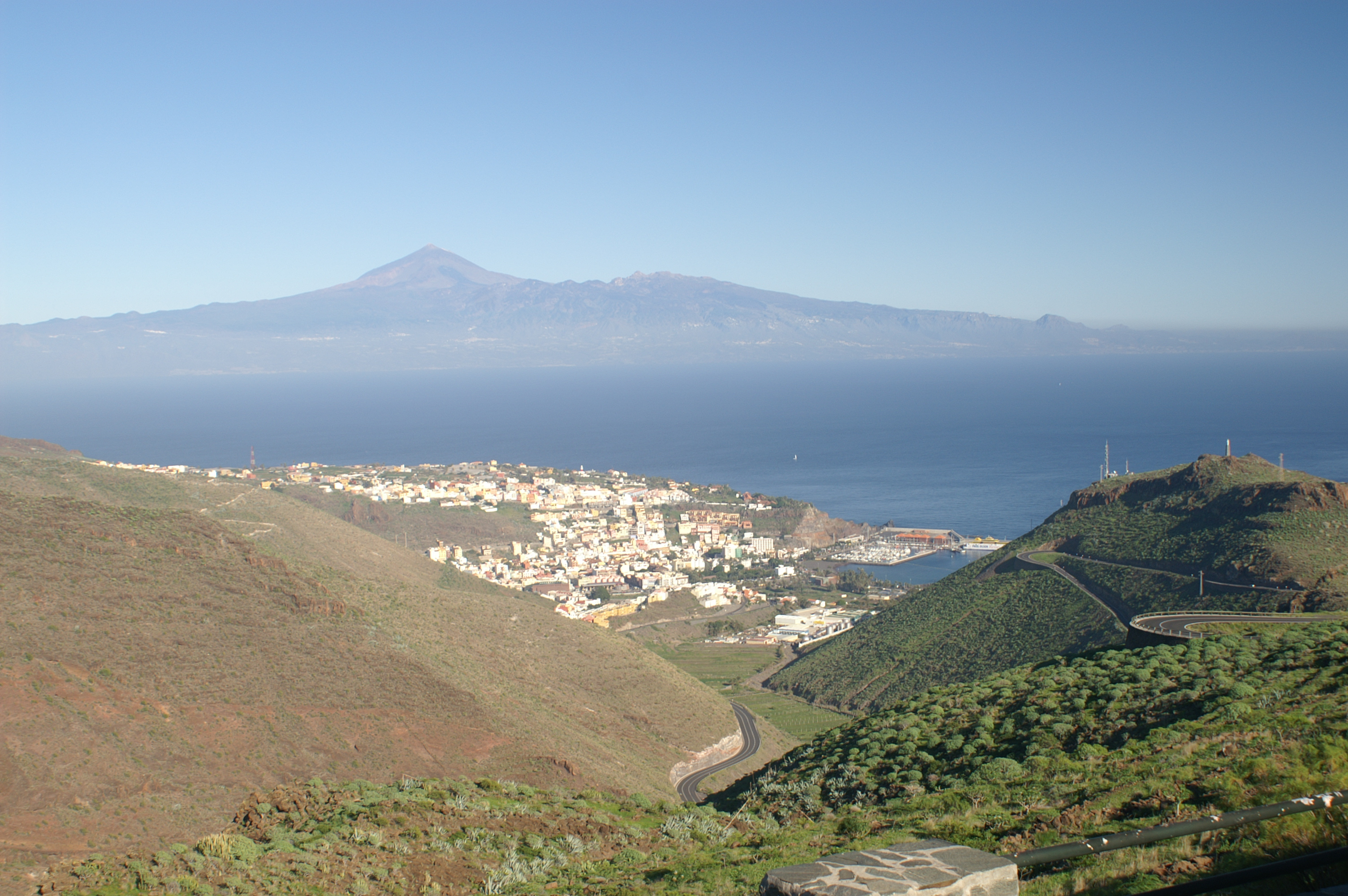 La Gomera och Teide