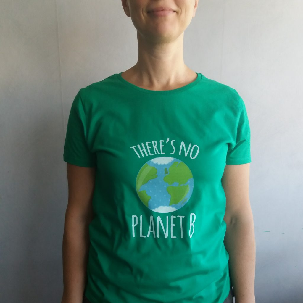 T-shirt: There's no planet B